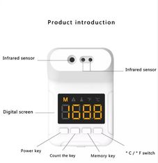 Intelligent Alarm 10cm Wall Mounted Thermometers